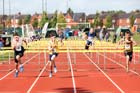 Boys under-15s 80 metres hurdles, Northern Under-17s/U-15s and U13s Champs, Leigh Sports Village, Leigh. Photo: David T. Hewitson/Sports for All Pics