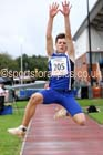 Boys under-15s long jump, Northern Under-17s/U-15s and U13s Champs, Leigh Sports Village, Leigh. Photo: David T. Hewitson/Sports for All Pics