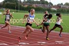 Womens under-17s 100 metres, Northern Under-17s/U-15s and U13s Champs, Leigh Sports Village, Leigh. Photo: David T. Hewitson/Sports for All Pics