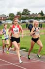 Womens under-17s 1500 metres, Northern Under-17s/U-15s and U13s Champs, Leigh Sports Village, Leigh. Photo: David T. Hewitson/Sports for All Pics