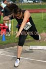 Womens under-17s shot putt, Northern Under-17s/U-15s and U13s Champs, Leigh Sports Village, Leigh. Photo: David T. Hewitson/Sports for All Pics