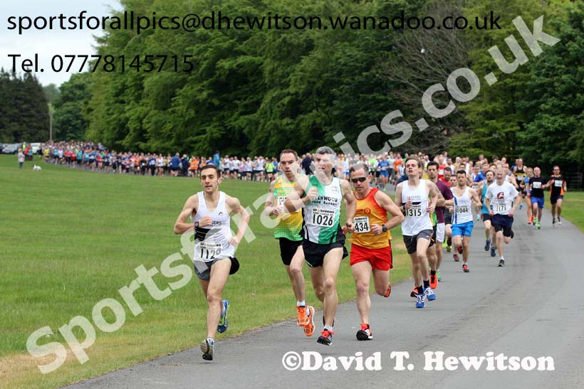 Raby Castle 10k, County Durham. Photo: David T. Hewitson/Sports for All Pics