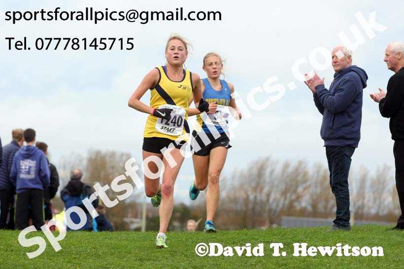 Senior womens Sherman Cup and Davison Shield, Temple Park, South Shields. Photo:  David T. Hewitson/Sports for All Pics