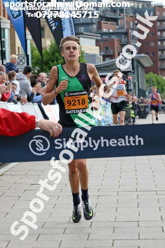 Simplyhealth Great North Run 5k. Photo: David T. Hewitson/Sports for All Pics