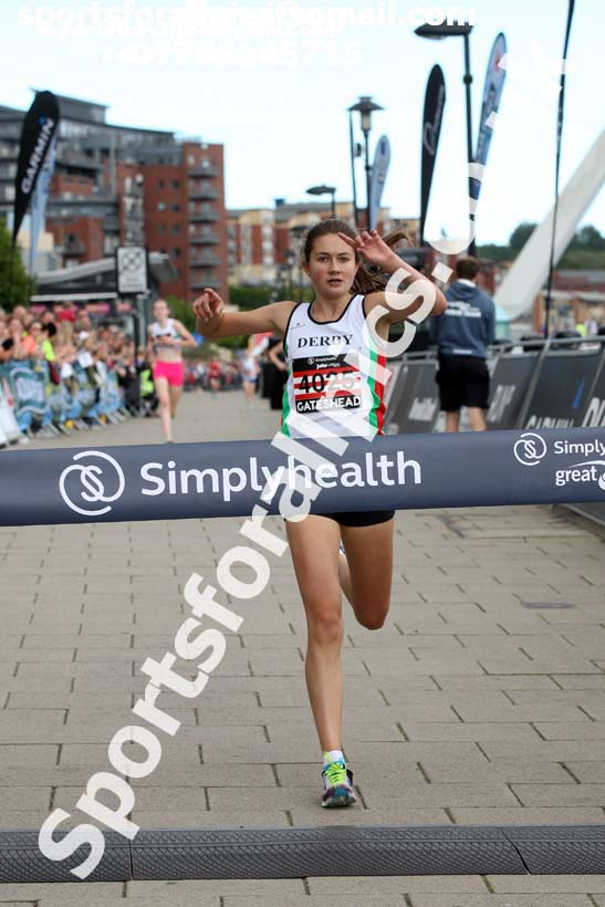 Simplyhealth Junior Great North Run. Photo: David T. Hewitson/Sports for All Pics