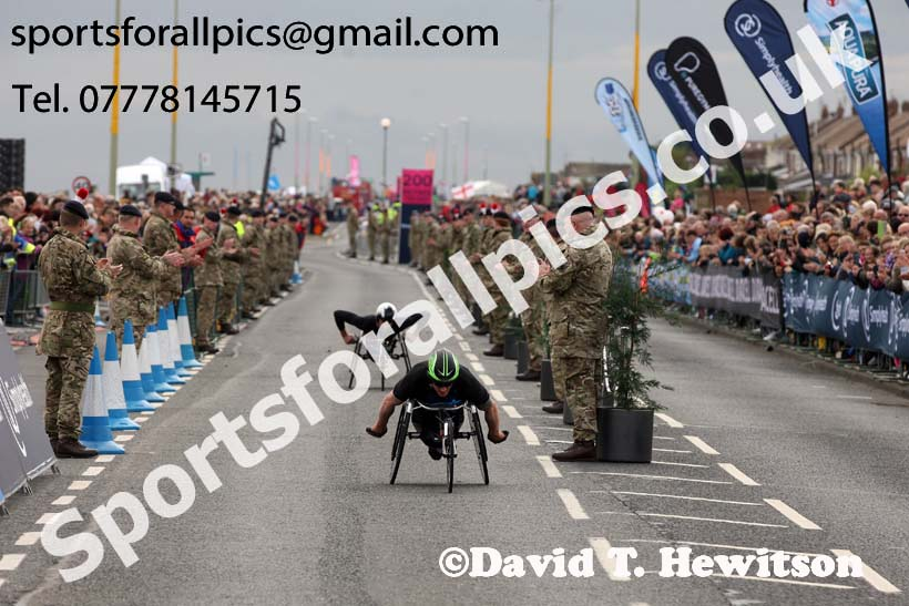 Wheelchair Great North Run, 2017 Simplyhealth Great North Run. Photo: David T. Hewitson/Sports for All Pics