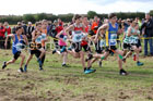 Boys under-13s Start Fitness North Eastern Harriers League, Wrekenton, Gateshead. Photo:  David T. Hewitson/Sports for All Pics