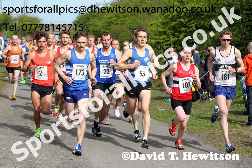 Terry O'Gara Memorial 5k Road Race, Wallsend. Photo: David T. Hewitson/Sports for All Pics