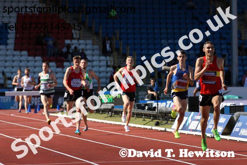 Mens 3000 metres steeplechase, World Championship Team Trials, Alexander Stadium, Birmingham