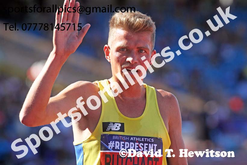 Mens 5000 metres, World Championship Team Trials, Alexander Stadium, Birmingham