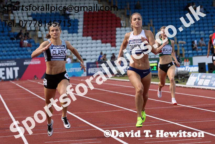 Womens 400 metres, British World Championship Team Trials, Alexander Stadium, Birmingham