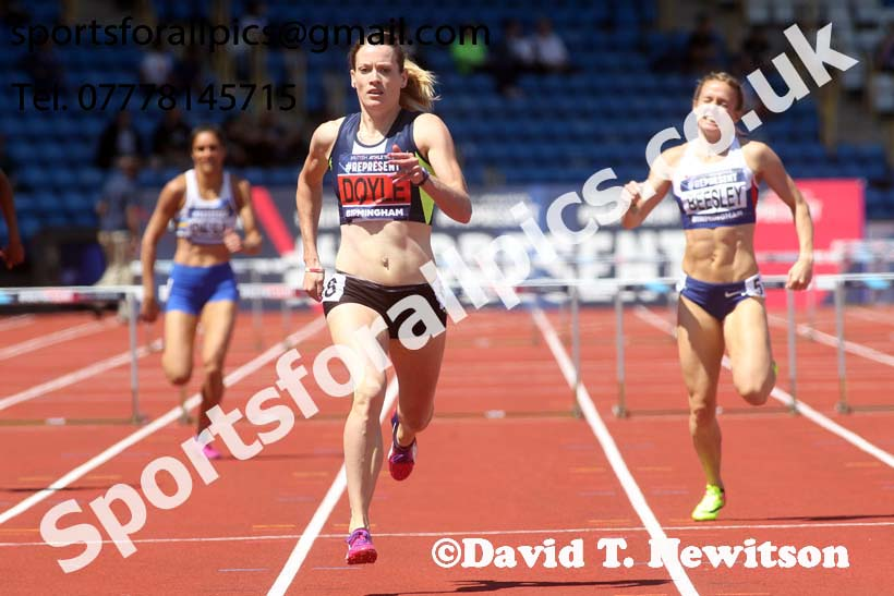 Womens 400 metres hurdles, World Championship Team Trials, Alexander Stadium, Birmingham