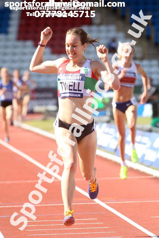 Womens 5000 metres, British World Championship Team Trials, Alexander Stadium, Birmingham