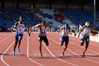 Mens 100 metres, Muller British Championships, Alexander Stadium, Birmingham. Photo: David T. Hewitson/Sports for All Pics