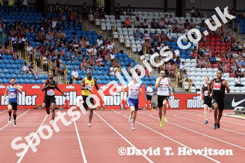 Mens 400 metres, Muller British Championships, Alexander Stadium, Birmingham. Photo: David T. Hewitson/Sports for All Pics