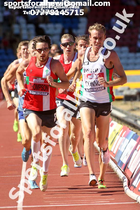Mens 5000 metres, Muller British Championships, Alexander Stadium, Birmingham. Photo: David T. Hewitson/Sports for All Pics
