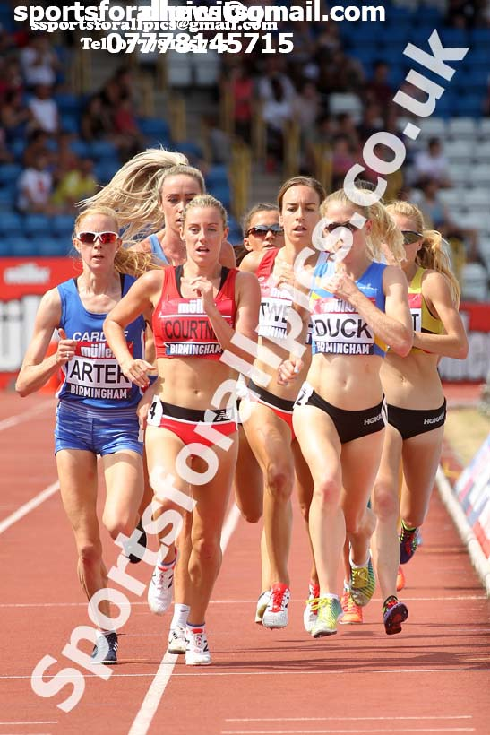 Womens 5000 metres, Muller British Championships, Alexander Stadium, Birmingham. Photo: David T. Hewitson/Sports for All Pics