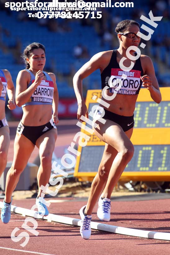 Womens 800 metres, Muller British Championships, Alexander Stadium, Birmingham. Photo: David T. Hewitson/Sports for All Pics