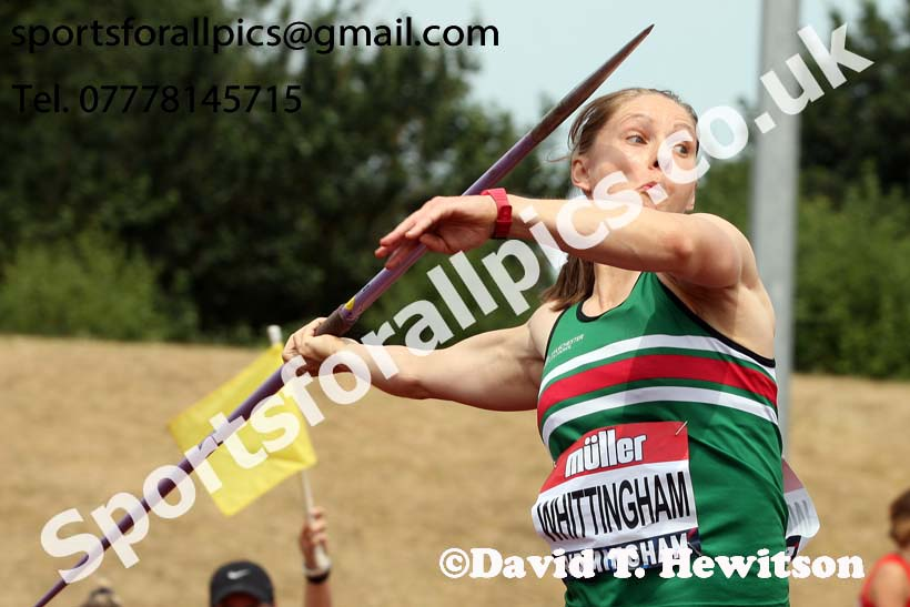 Womens javelin, Muller British Championships, Alexander Stadium, Birmingham. Photo: David T. Hewitson/Sports for All Pics