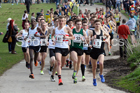 Senior mens 12 Stage Relay, ERRA 12 and 6 Stage Relays, Sutton Coldfield. Photo: David T. Hewitson/Sports for All Pics