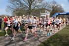 Senior womens 6 Stage Relay, ERRA 12 and 6 Stage Relays, Sutton Coldfield. Photo: David T. Hewitson/Sports for All Pics
