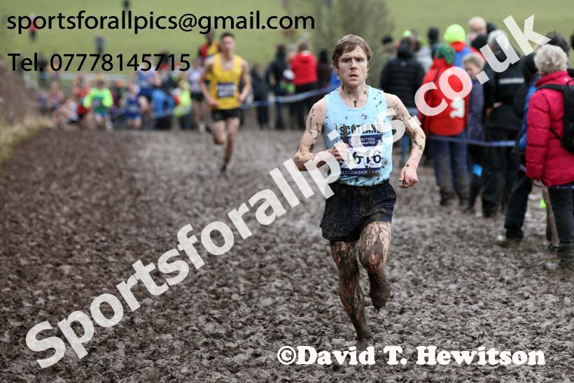 Senior mens 2018 British Inter Counties Cross Country Champs., Prestwold Hall, Loughborough. Photo: David T. Hewitson/Sports for All Pics