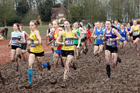 Womens under-17s 2018 British Inter Counties Cross Country Champs., Prestwold Hall, Loughborough. Photo: David T. Hewitson/Sports for All Pics