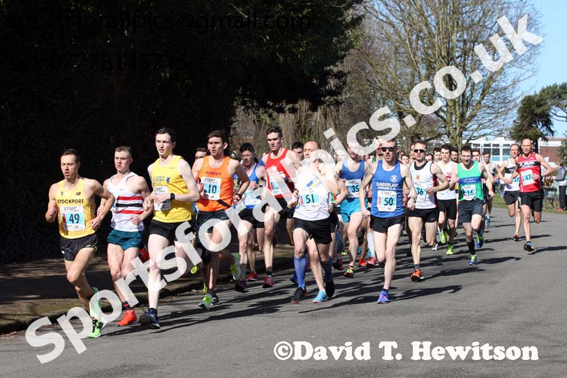 Senior mens Northern 12 Stage Road Relay Champs., Birkenhead Park. Photo: David T. Hewitson/Sports for All Pics