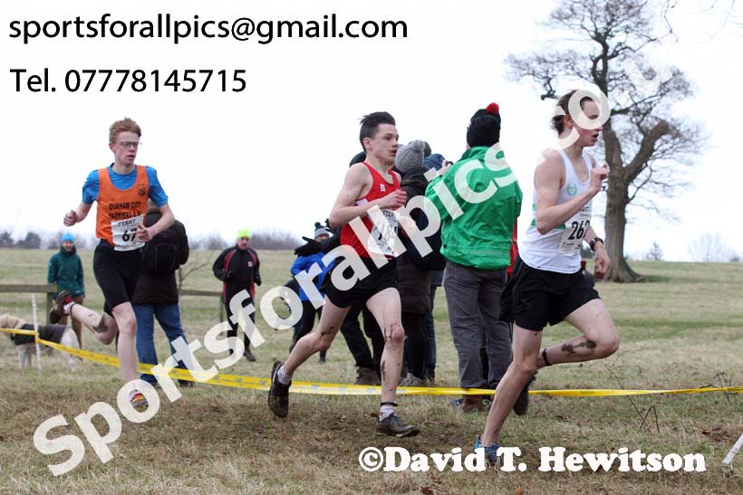 Boys under-15s, 2018 Northern Cross Country Champs., Harewood House, Leeds. Photo: David T. Hewitson/Sports for All Pics
