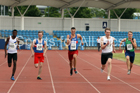 Mens under-20s 200 metres, Northern Senior and Under-20s Champs., Sports City, Manchester. Photo: David T. Hewitson/Sports for All Pics