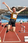 Senior mens long jump, Northern Senior and Under-20s Champs., Sports City, Manchester. Photo: David T. Hewitson/Sports for All Pics