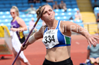 Senior womens javelin, Northern Senior and Under-20s Champs., Sports City, Manchester. Photo: David T. Hewitson/Sports for All Pics