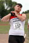 Boys under-15s shot putt, 2018 Northern Under-17s/U-15s/U-13s Champs., Wavertree Athletics Centre, Liverpool. Photo: David T. Hewitson/Sports for All Pics