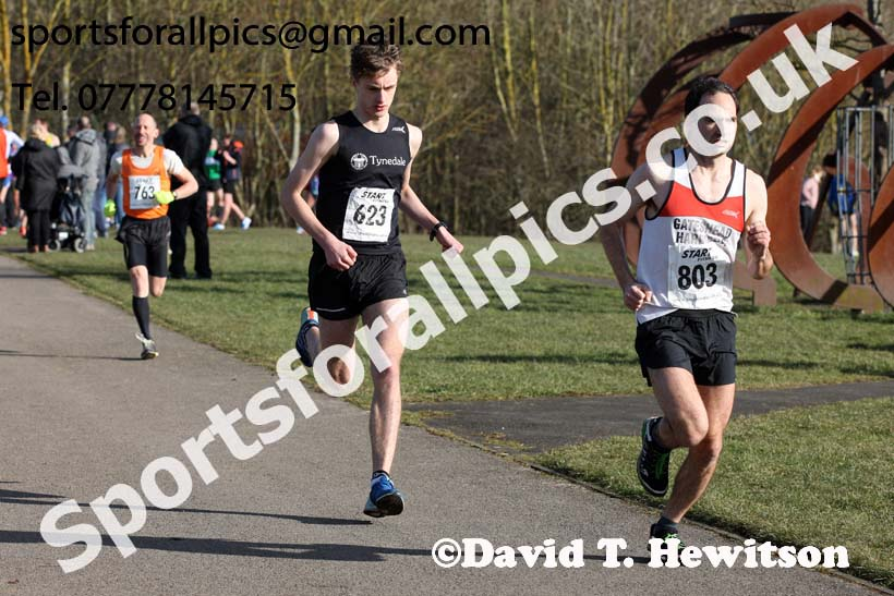 Senior mens 2018 Royal Signals NECAA Road Relays, Hetton. Photo: David T. Hewitson/Sports for All Pics