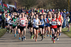 Senior women and vets women and men, 2018 Royal Signals NECAA Road Relays, Hetton. Photo: David T. Hewitson/Sports for All Pics