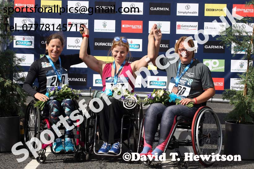 Wheelchair 2018 Simplyhealth Great North Run. Photo: David T. Hewitson/Sports for All Pics