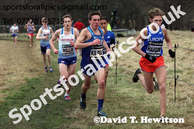 Simplyhealth Great Edinburgh XCountry junior men, 2018 Simplyhealth Great Edinburgh International XCountry. Photo: David T. Hewitson/Sports for All Pics