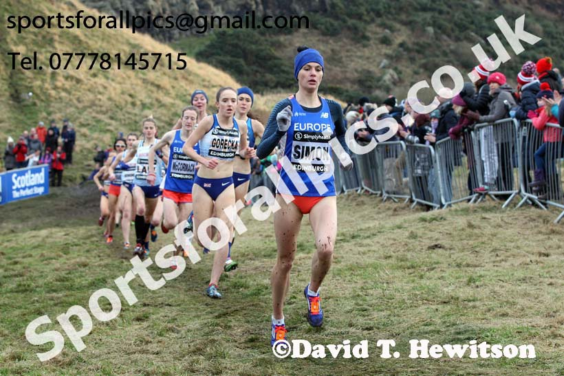 Simplyhealth Great Edinburgh XCountry women, 2018 Simplyhealth Great Edinburgh International XCountry. Photo: David T. Hewitson/Sports for All Pics