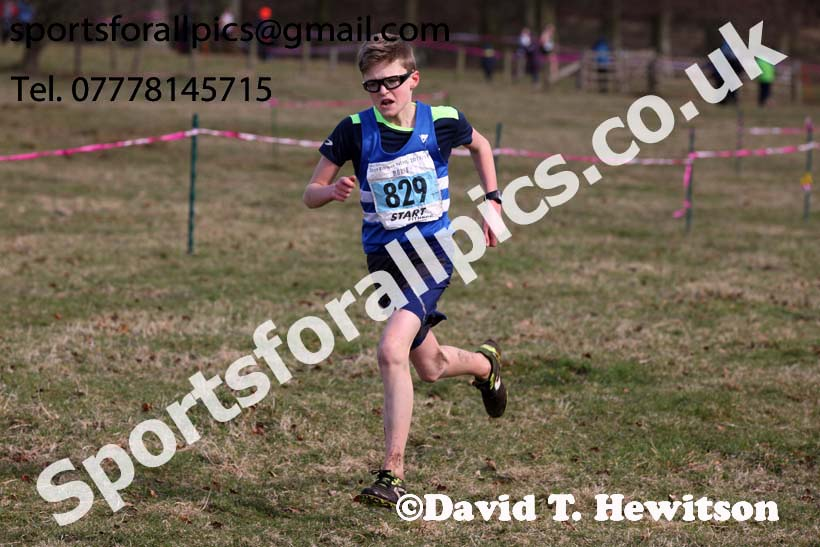 Boys under-15s Start Fitness NEHL, Alnwick. Photo: David T. Hewitson/Sports for All Pics