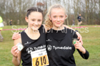 Girls under-13s Start Fitness NEHL, Aykley Heads, Durham. Photo:  David T. Hewitson/Sports for All Pics
