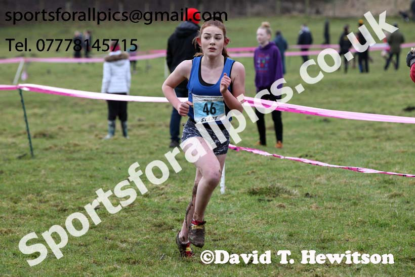 Girls under-13s, Start Fitness NEHL, Thornley Hill Farm, Peterlee, County Durham. Photo: David T. Hewitson/Sports for All Pics