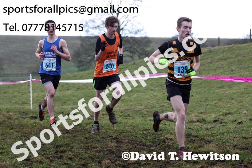 Mens under-17s, Start Fitness NEHL, Thornley Hill Farm, Peterlee, County Durham. Photo: David T. Hewitson/Sports for All Pics