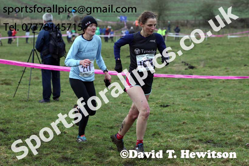 Senior women, Start Fitness NEHL, Thornley Hill Farm, Peterlee, County Durham. Photo: David T. Hewitson/Sports for All Pics