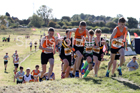 Boys under-15s Start Fitness NEH, Wrekenton. Photo:  David T. Hewitson/Sports for All Pics