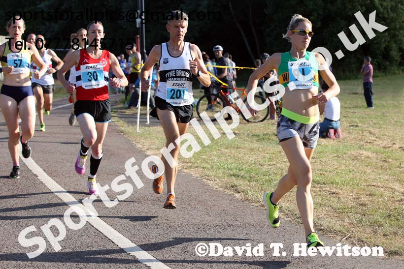 Veteran and womens 2018 Sunderland 5k Road Races, Silksworth, Sunderland. Photo: David T. Hewitson/Sports for All Pics