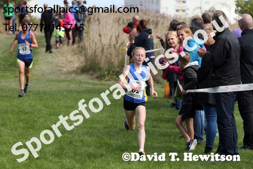 Boys and girls under-15s, Sunderland Harriers Cross Country Relays, Farringdon, Sunderland . Photo: David T. Hewitson/Sports for All Pics