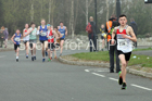 Boys and girls under-15s road race, 2019 Elswick Harirers Good Friday Road Relay, Newburn, Newcastle. Photo:  David T. Hewitson/Sports for All Pics