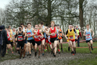 Senior boys 2019 New Balance English Schools Cross Country Champs, Temple Newsam, Leeds. Photo:  David T. Hewitson/Sports for All Pics