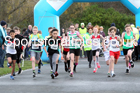 Boys and grils under-13s, Heaton Memorial 10k Road Race, Town Moor, Newcastle.  Photo: David T. Hewitson/Sports for All Pics