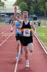 Mens under-17s 1500, 2019 North Eastern Track and Field Champs., Middlesbrough. Photo:  David T. Hewitson/Sports for All Pics